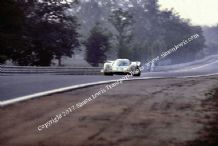 Porsche 917 Stommolen/Ahrens at 240mph on Mulsanne straight Le Mans 1969